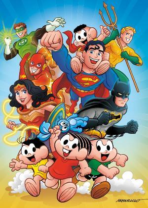 Crossover entre a Turma da Mônica e os heróis da DC