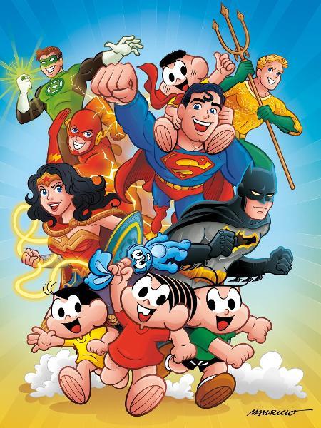Crossover entre a Turma da Mônica e os heróis da DC - Divulgação