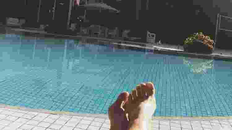 Em suas redes sociais, Xuxa posta imagens de pequenos detalhes de sua mansão como a piscina na área externa do imóvel - Reprodução/Instagram/@xuxamenegheloficial - Reprodução/Instagram/@xuxamenegheloficial
