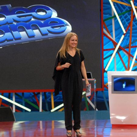 "Angélica no ""Vídeo Game"", quadro do ""Vídeo Show"" - Renato Rocha Miranda/TV Globo"