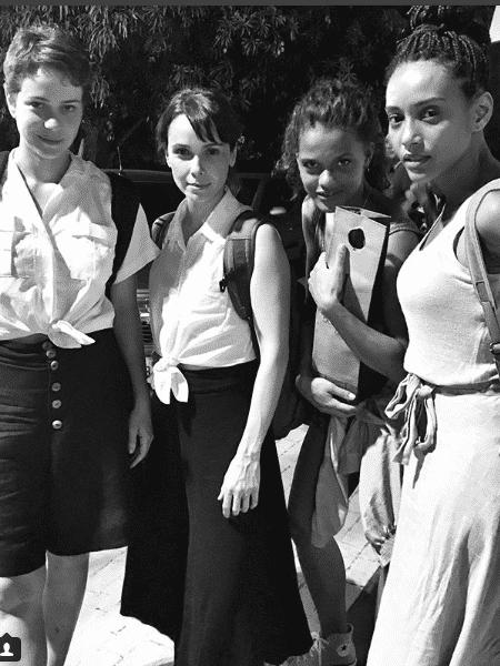Leandra Leal, Débora Falabella, Thaina Duarte e Taís Araújo - Reprodução/Instagram