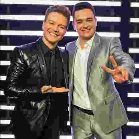 Michel Teló e Léo Pain - Mauricio Fidalgo/TV Globo - Mauricio Fidalgo/TV Globo