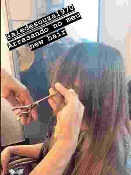 Paula Fernandes mostra novo corte de cabelo no Instagram - Reprodução/Instagram - Reprodução/Instagram