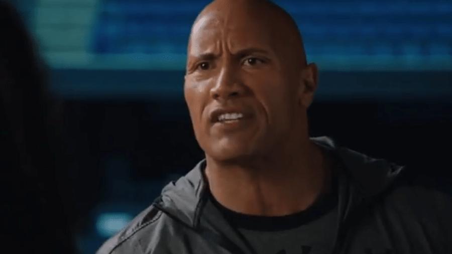"""Dwayne """"The Rock"""" Johnson em trailer de """"Fighting With My Family"""" - Reprodução/Youtube"""