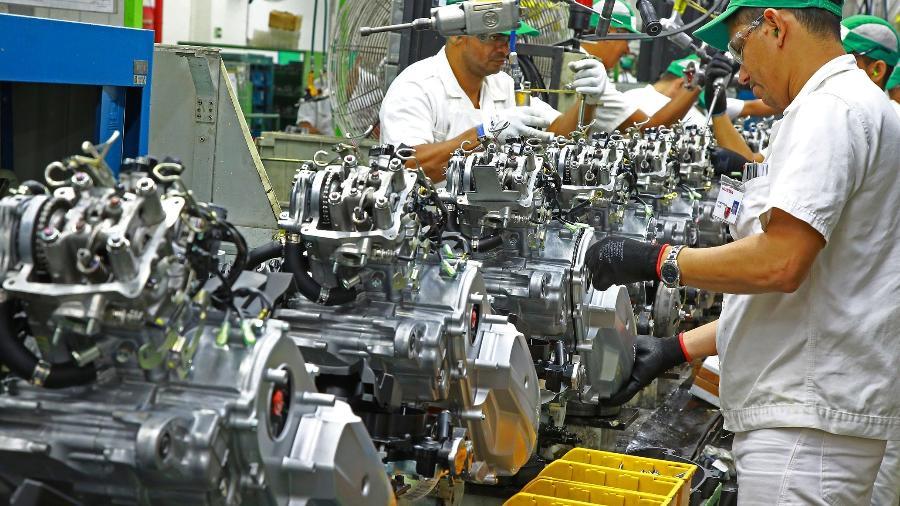 Fábrica de motos na capital amazonense está fechada nesta sexta-feira (15/01); empresa estuda nova paralisação - Diculgação