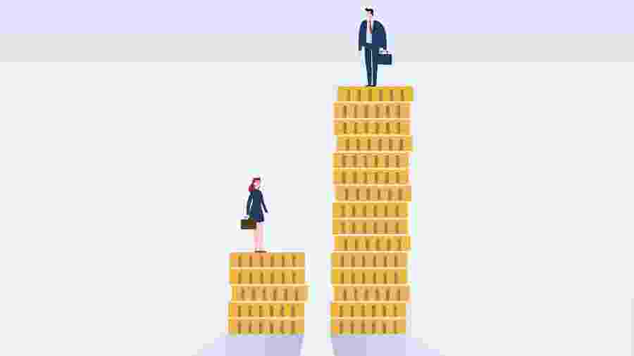 diferença salarial homens e mulheres - iStock