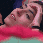 Paula chora ao saber que Hariany está no paredão triplo da semana - Reprodução/Globoplay