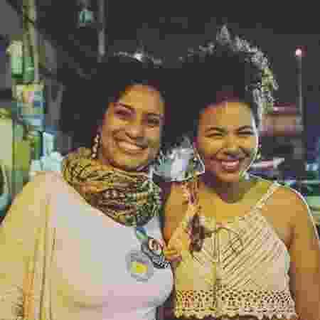 Marielle Franco e a cantora Doralyce - Reprodução/Instagram