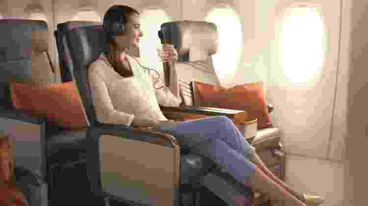 """O Airbus A350-900ULR é projetado para minimizar os efeitos do """"jet lag"""" - Divulgação/Singapore Airlines"""