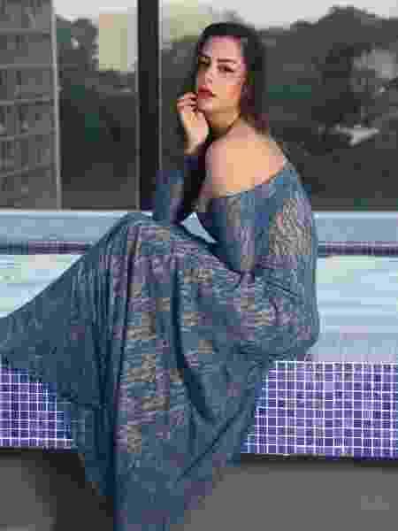 A modelo Larissa Riquelme - Acervo pessoal/Larissa Riquelme
