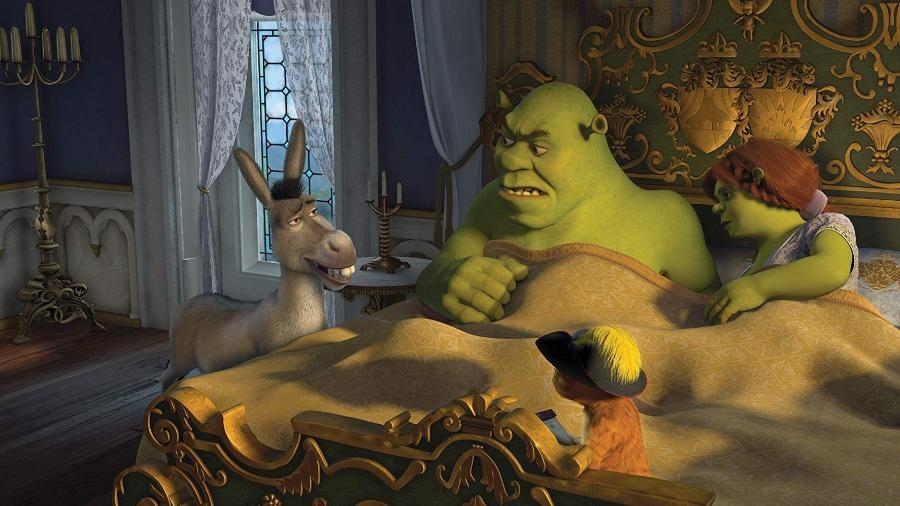 Cena de Shrek Terceiro (2007) - Divulgação