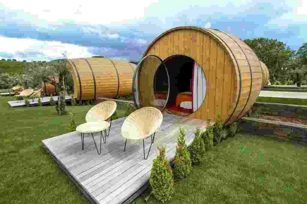 Fachada do The Wine House Hotel na vinícola Quinta da Pacheca, localizada na cidade de Lamego, em Portugal - Reprodução/Booking.com