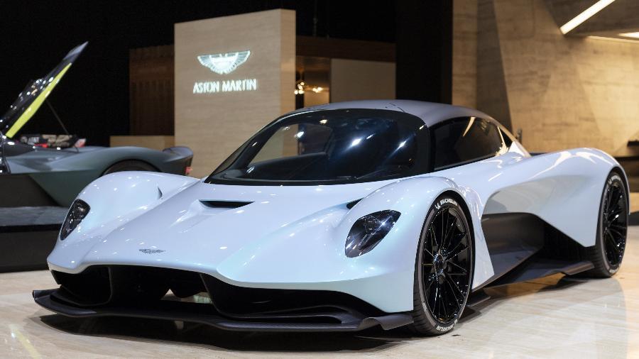 Aston Martin Valhalla - Divulgação/Aston Martin