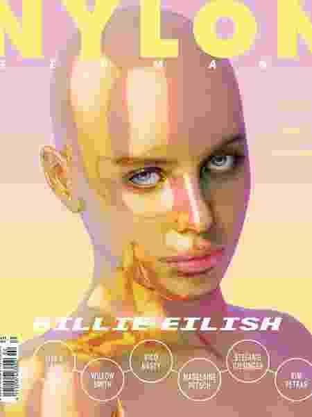 Revista Nylon com Billie Eilish na capa - Reprodução/Instagram