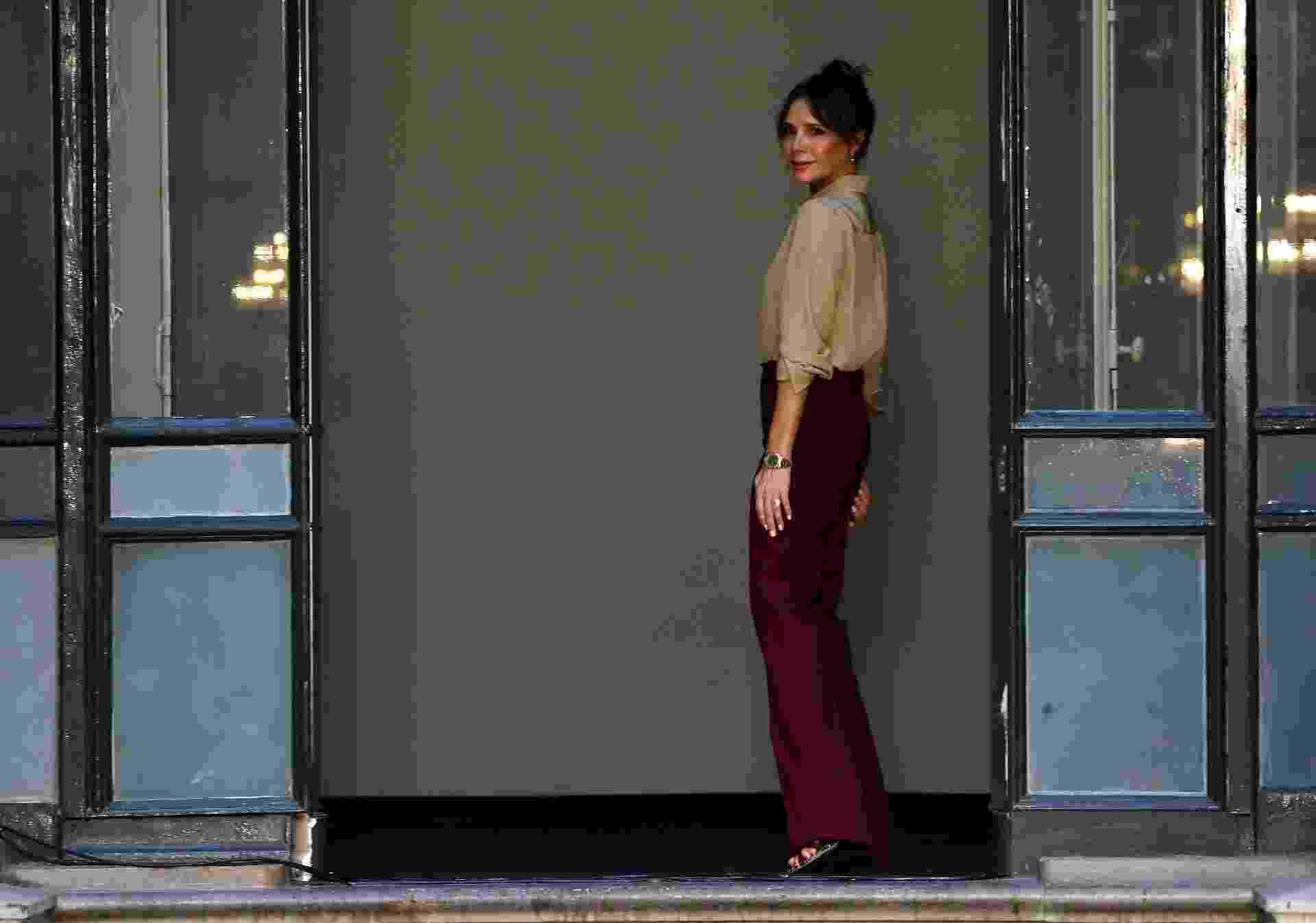Victoria Beckham marcou os 11 anos de sua marca em desfile na Semana de Moda de Londres - Getty Images