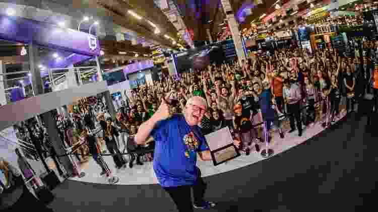 Charles Martinet, dublador do Mario, tem sido convidado fiel da BGS - Divulgação/BGS