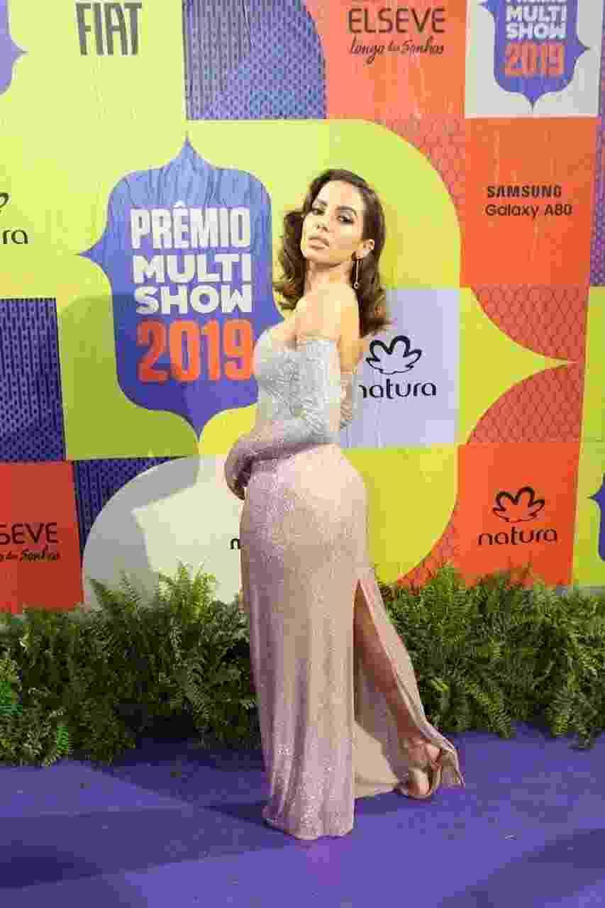 Anitta, uma das estrelas do Prêmio Multishow 2019 - Divulgação