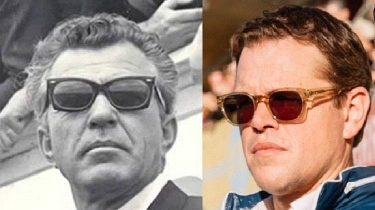 Carroll Shelby e Matt Damon - Reprodução
