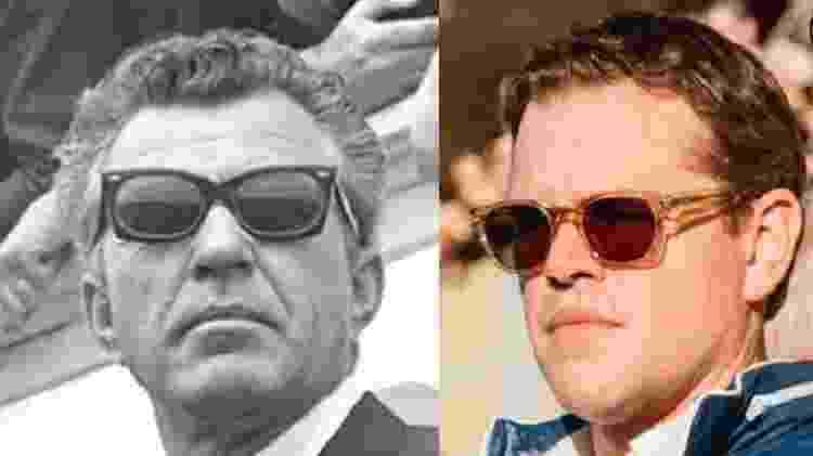 Carroll Shelby e Matt Damon - Reprodução - Reprodução