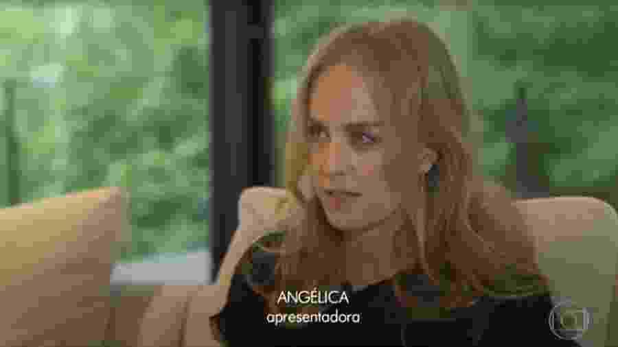 Angélica lembra do amigo Gugu - Reprodução/TV Globo