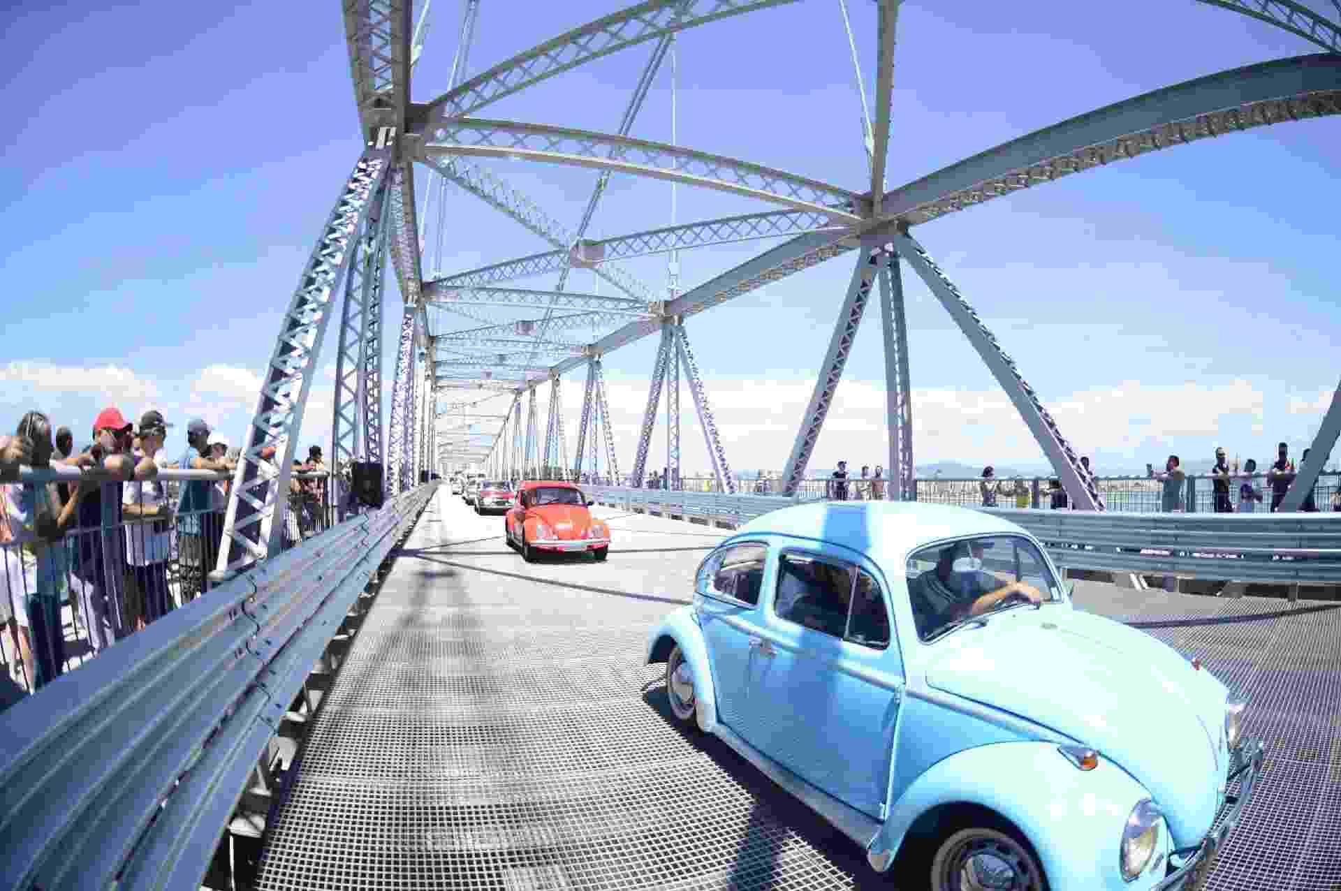 A maior ponte pênsil do Brasil tem 820 metros de extensão e pesa cerca de 5 mil toneladas - EDUARDO VALENTE/FRAMEPHOTO/ESTADÃO CONTEÚDO