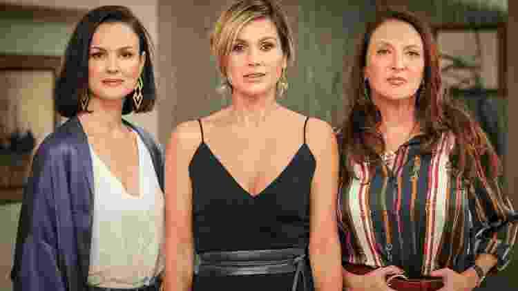 Agnes (Carolina Kasting), Helena (Flavia Alessandra), Graziela (Débora Oliveira) - Divulgação/Globo
