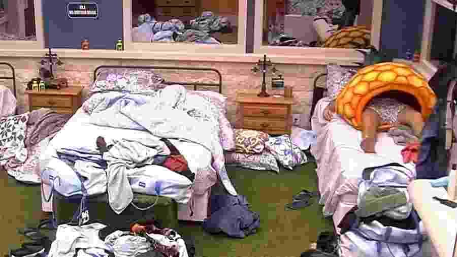 BBB 20 - Babu e Hadson são os primeiros a dormir - Reprodução/Globo