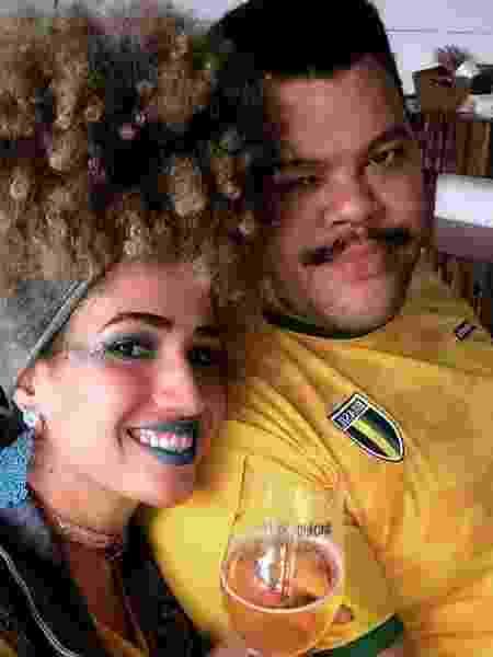 Tatiane Melo com o namorado, Babu Santana - Reprodução/Instagram