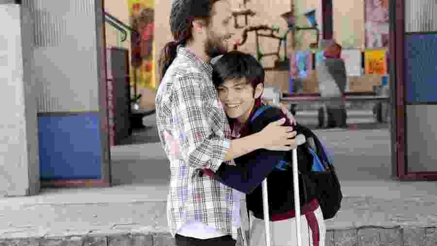 Cassio vai buscar Bento na escola  - Lourival Ribeiro/SBT