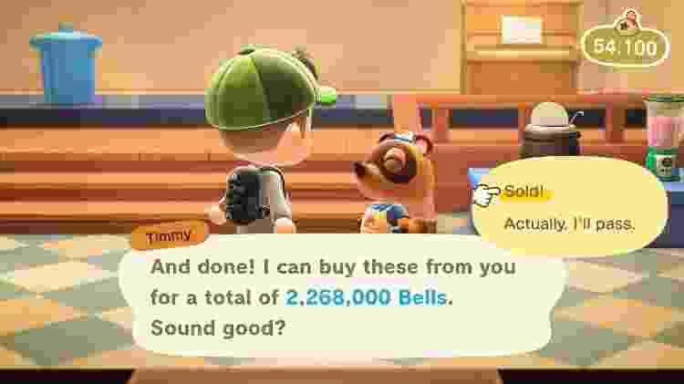Animal Crossing Fortuna - Reprodução - Reprodução