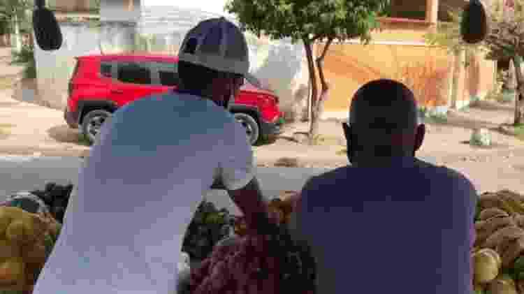 Gedeilson Oliveira virou feirante durante a pandemia para sobreviver - Arquivo pessoal - Arquivo pessoal