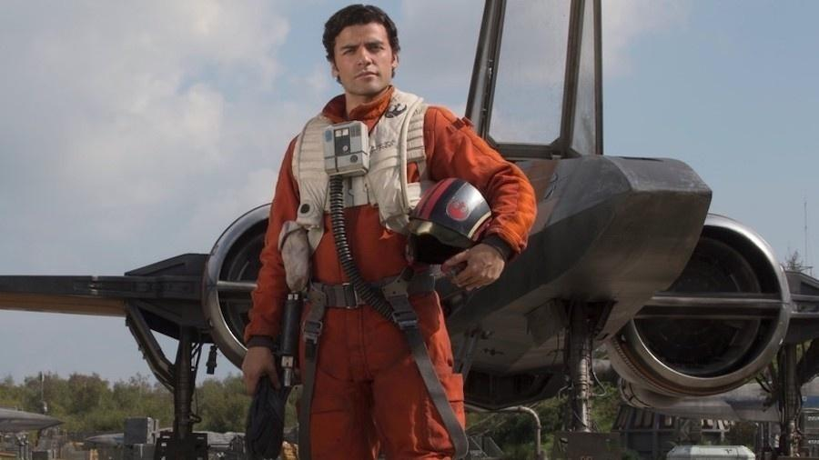 Oscar Isaac é o Poe Dameron na saga Star Wars - Divulgação