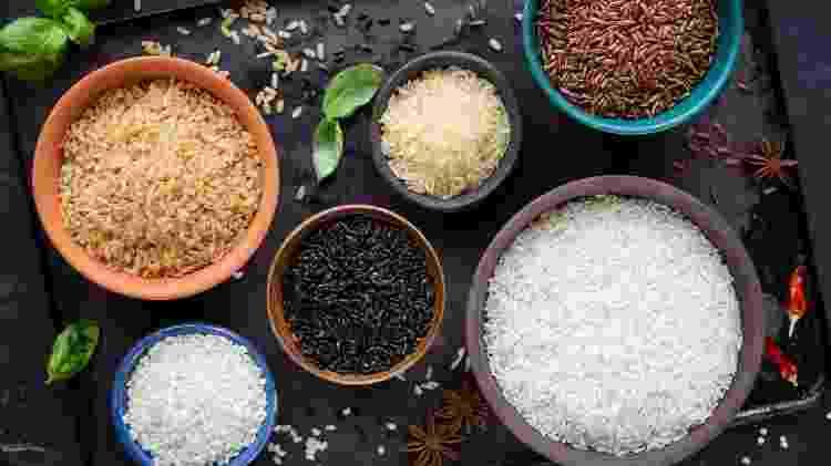 Nem só de arroz branco vive sua cozinha! Conheça mais variedades - Getty Images - Getty Images