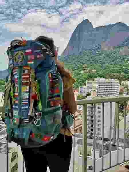 Ana Vieira no Rio - Arquivo pessoal - Arquivo pessoal