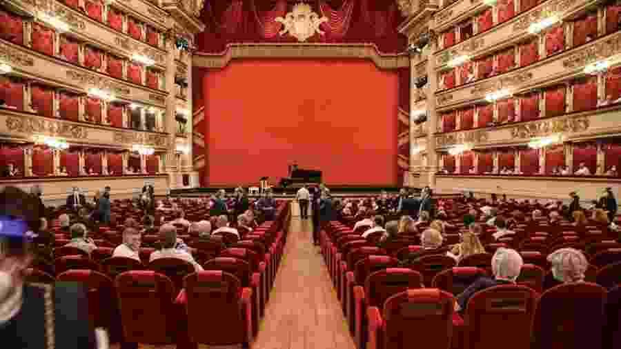 Teatro alla Scala, em Milão (Itália) - Matteo Corner/EFE