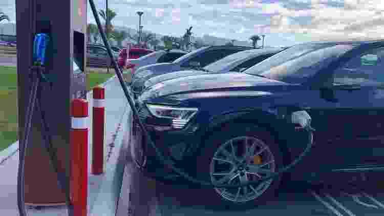 Recarga carro elétrico - Alessandro Reis/UOL - Alessandro Reis/UOL