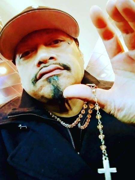 O rapper Ganxta Ridd, em foto de setembro de 2019 - Reprodução/Instagram
