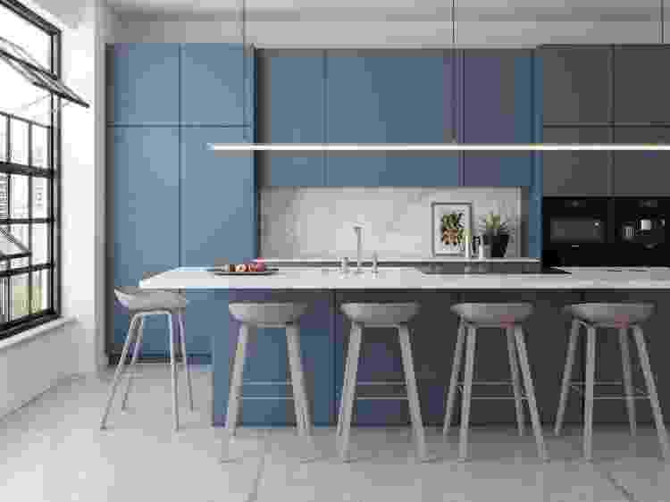 Azul é uma cor conhecida por trazer tranquilidade e ajudar na concentração - Divulgação - Divulgação