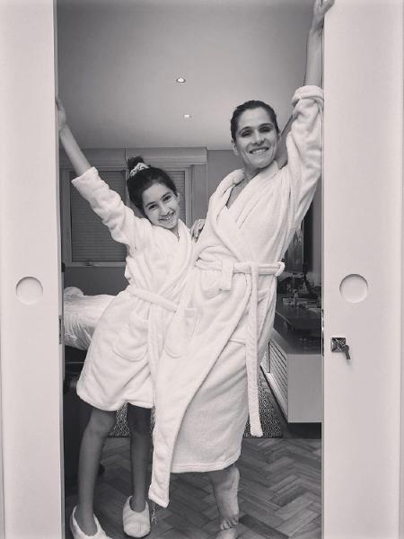Ingrid Guimarães e sua filha, Clara - Reprodução/Instagram