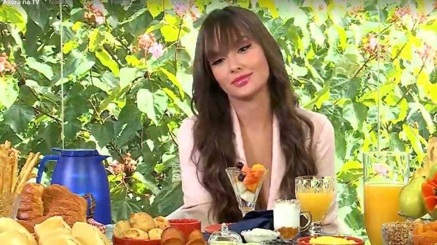 BBB 21: Thaís é entrevistada por Ana Maria Braga - Reprodução/TV Globo