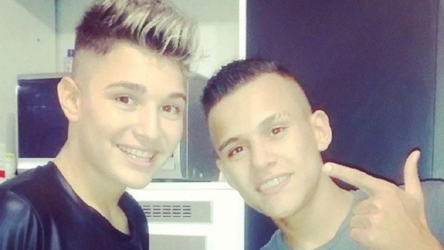 MC Gui ao lado do irmão, Gustavo, falecido há 7 anos - Reprodução/Instagram