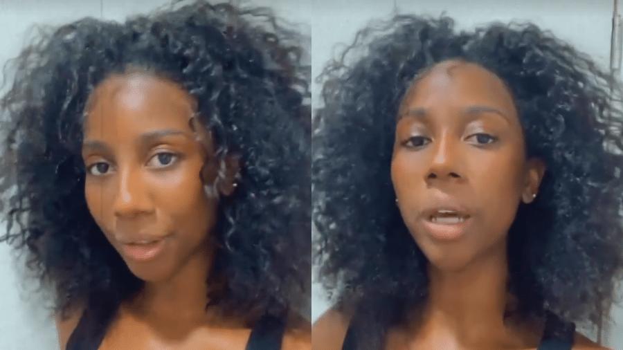 Ex-BBB Camilla de Lucas mostrou o cabelo natural - Reprodução/Instagram