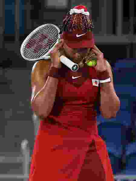 Naomi Osaka durante as Olimpíadas de Tóquio - David Ramos / Equipa - David Ramos / Equipa