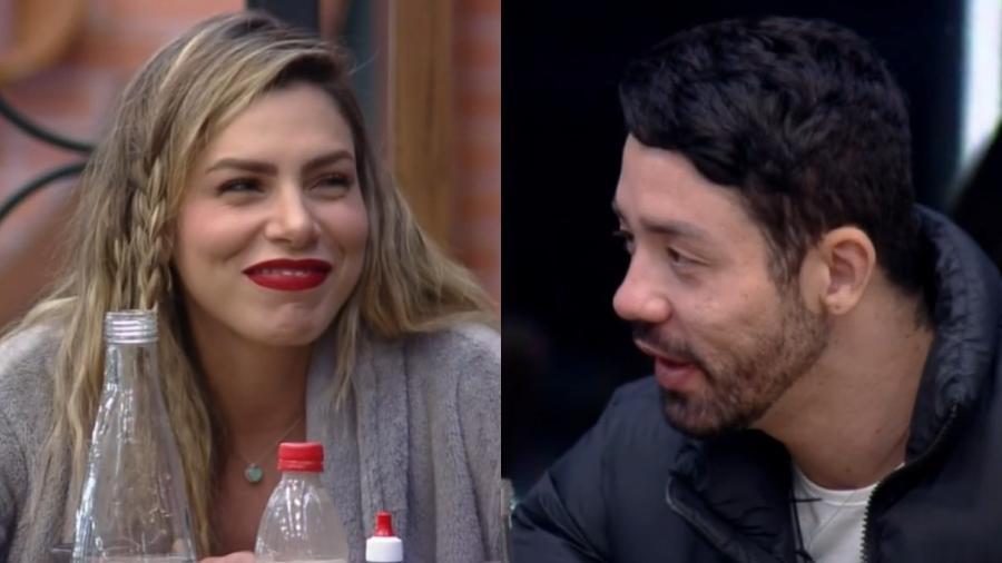A Fazenda 2021: Rico questiona Erika Schneider sobre affair com Erasmo Viana - Reprodução/RecordTV