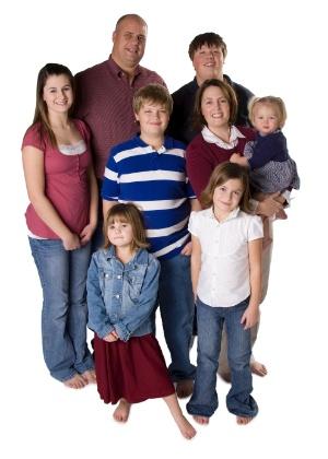 Ter mais de quatro filhos gera satisfação - Getty Images
