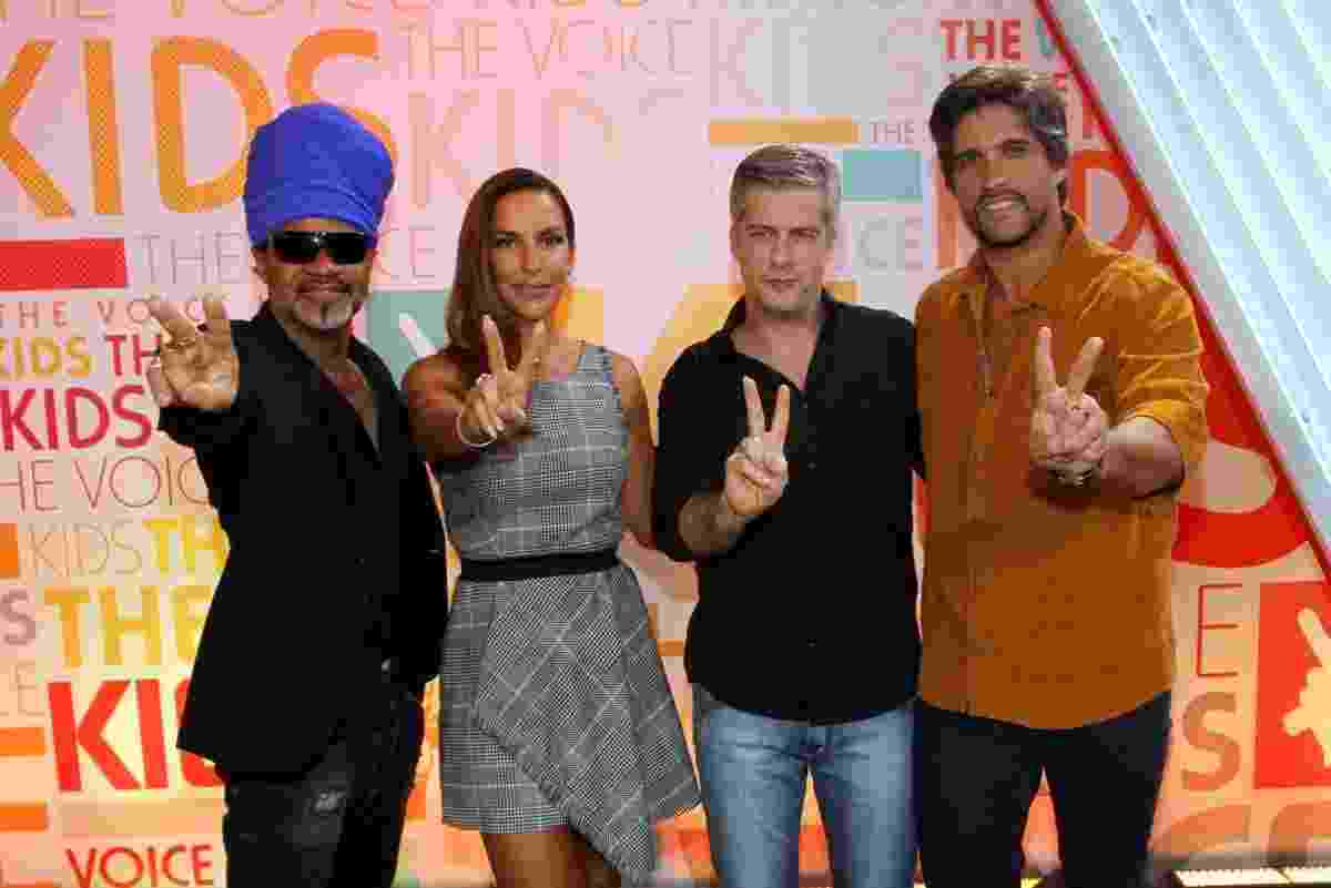"14.dez.2015 - Coletiva de ""The Voice Kids"" - Marcos Ferreira/BRAZIL NEWS"