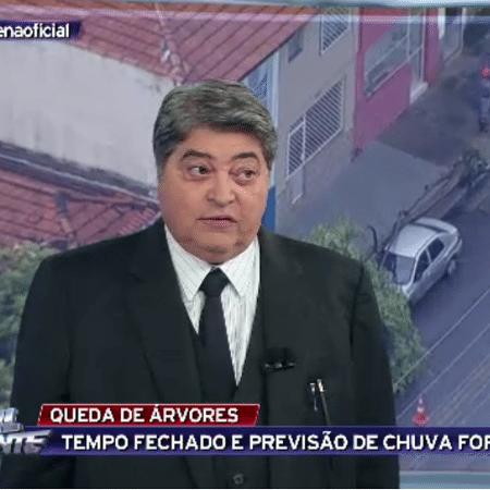 José Luiz Datena - Reprodução/TV Bandeirantes