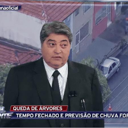 """Datena diz que está """"em vias de se aposentar"""" - Reprodução/TV Bandeirantes"""