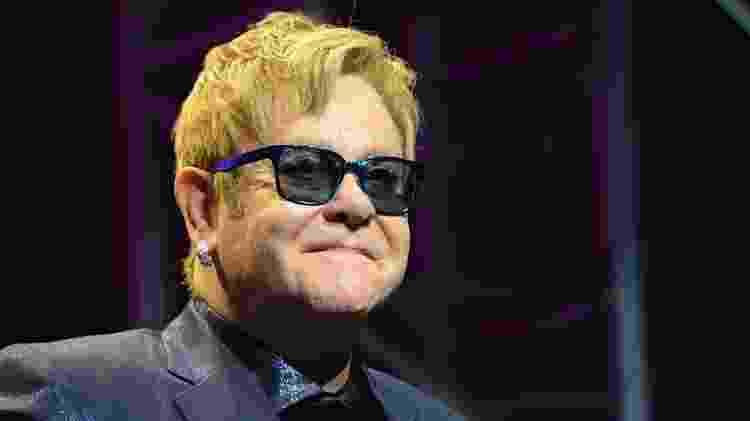 O cantor Elton John - Michael Kovac/Getty Images - Michael Kovac/Getty Images