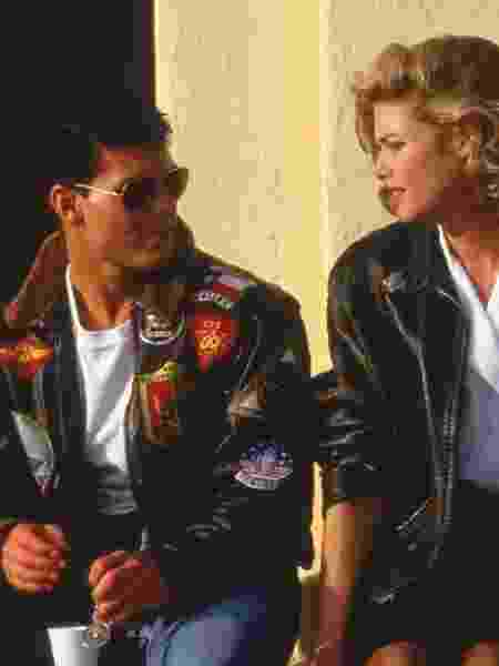 Tom Cruise e Kelly McGillis em Top Gun - Divulgação/Paramount Pictures/Imdb